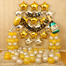 Gold Silver Anniversary Décor: All Decoration Services