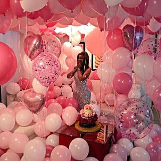 Grandiose Valentine's Surprise: Balloons Decorations