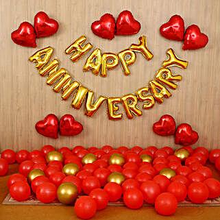 Happy Anniversary Surprise Décor: All Decoration Services