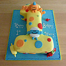 Happy Birthday Toddler Cake: Birthday Premium Gifts