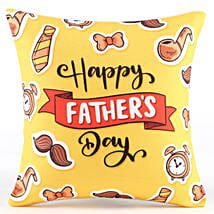 Happy Father's Day Cool Cushion: Fathers Day Personalised Gifts