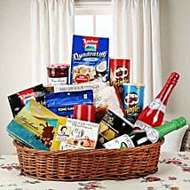 Hearty Sweet and Savory Basket: Send Anniversary Gift Baskets