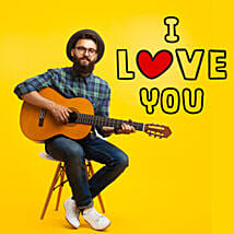 I Love You Romantic Tunes: Gifts N Guitarist Service
