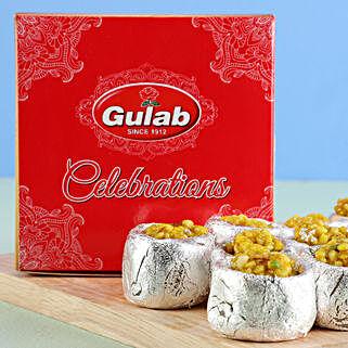 Kaju Katori Box: Bhai Duj Sweets