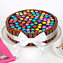 Kit Kat Cake: Eggless cakes for anniversary