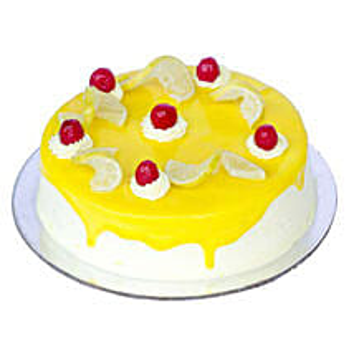 Lemon Vanilla Cake Half kg
