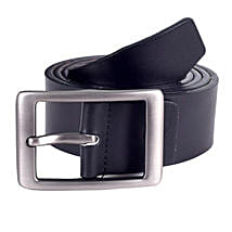 Lino Perros Classic Black Leather Belt: Belts for Him