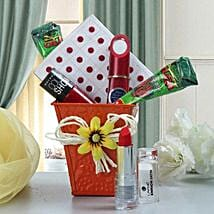 Little Care Combo: Cosmetics & Spa Hampers for Karwa Chauth