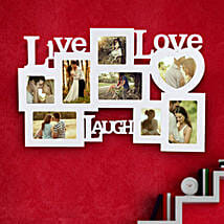 Live Laugh Love Frame Valentine: