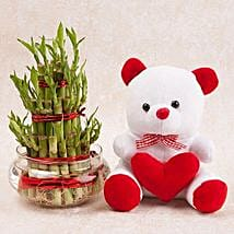 Love N Luck Combo: Soft toys for Bhai Dooj