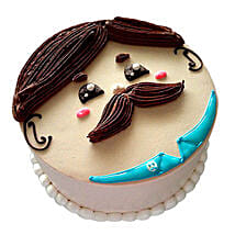 Lovely Designer Cake: Send Fathers Day Gifts to Mumbai