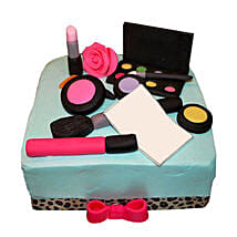 MAC Makeup Cake: Butter Scotch Cakes
