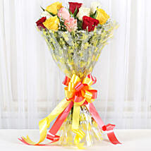 Marvellous Bouquet Of Roses: New Year Gifts