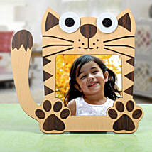 Meow Personalized Photo Frame: Birthday Personalised Photo Frames