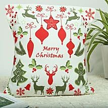 Merry Christmas Cushion: Send Christmas Gifts For Girlfriend