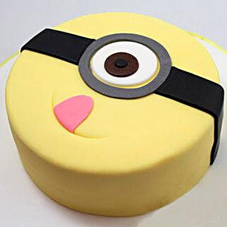 Minion Stuart Cake: Cartoon Cakes