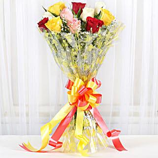 Marvellous Bouquet Of Roses:
