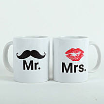 Mooch N Lips Couple Mugs: Gifts for Wedding