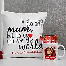 Mums The World Combo: Mugs for Mother's Day