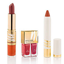MyGlamm Lipstick Combo: Mothers Day Spa Hampers