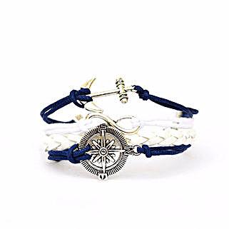 Nautical Blue Bracelet: Friendship day Bracelets