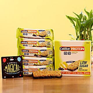 Nutritious Low Sugar Protein Bars- Lemon Peel: Send Gift Hampers
