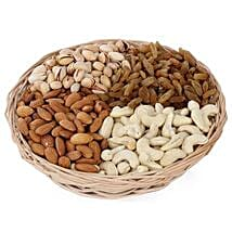 One kg Dry fruits Basket: Fathers Day Gift Baskets