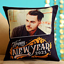 Personalised 2020 New Year Cushion For Him: New Year Gifts for Boyfriend
