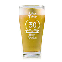 Personalised Beer Glass 1457: Personalised Beer Glasses