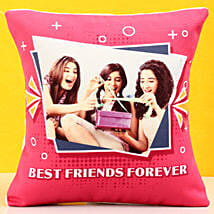 Personalised Best Friends Forever Cushion: Gifts For Friendship Day