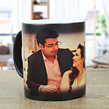 Personalised Black Magical Mug: Gift for Boyfriend