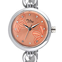 Personalised Classy Silver Watch: Women's Accessories