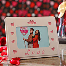 Personalised Couple In Love Photo Frame: Personalised Photo Frames