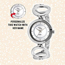 Personalised Enchanting Silver Watch: Watches
