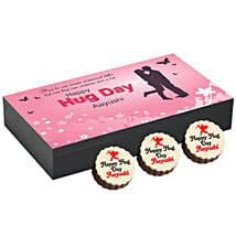 Personalised Hug Day Round Chocolates: Cakes to Chirawa