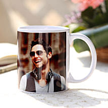 Personalised Love White Ceramic Mug: Gifts for Men