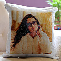 Personalised Magical Sequin Cushion For Her: Bestselling Personalised Gifts