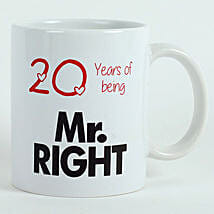 Personalised Mr Right Mug: Gifts To Jubilee Hills
