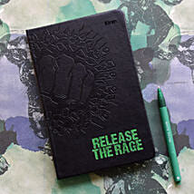 Personalised Release The Rage Notebook: