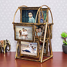 Personalised Swing Wheel Photo frame: Home Decor