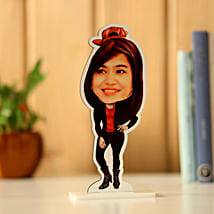 Personalised Woman Caricature: Funny Gifts