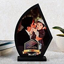 Personalized Best Father Trophy: Birthday Gifts for Dad