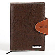 Personalized Brown Notebook: Personalised Stationary