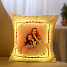 Personalized Cool Yellow LED Cushion: Cushions