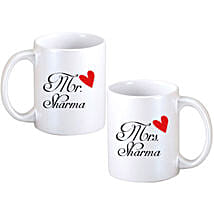 Personalized Couple Mugs: Personalised Gifts Bihar Sharif