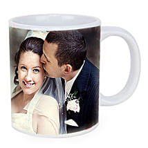 Personalized Couple Photo Mug: Wedding