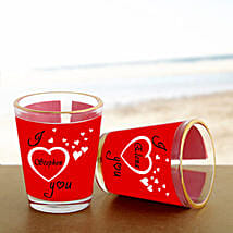 Personalized Couple Shot Glass: