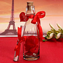Personalized Love Message Bottle: Personalised Gifts Barasat