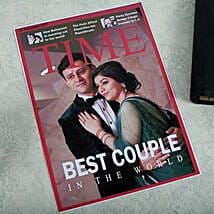 Personalized Magazine Cover: Anniversary Gifts for Wife