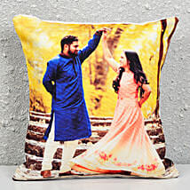 Personalized Picture Cushion: Personalised Gifts Rourkela